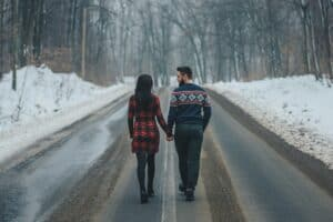 Christian long-distance relationship