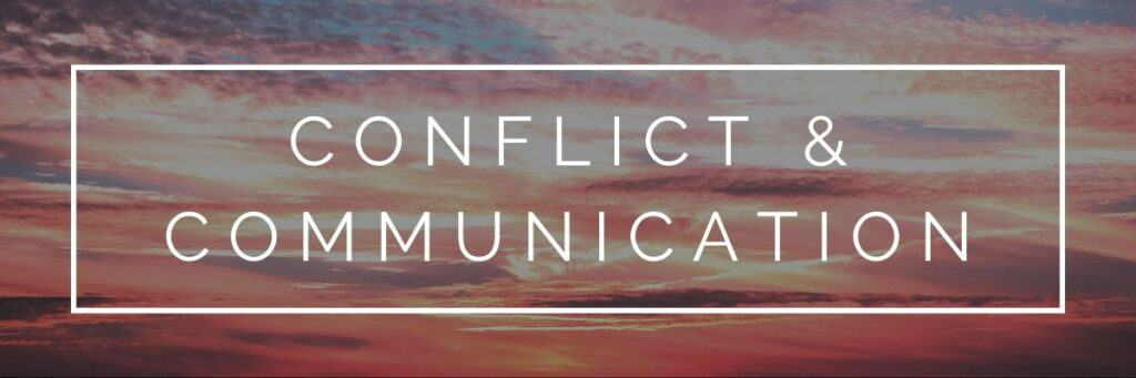 Bible verses for healthy conflict resolution and communication in a long distance relationship